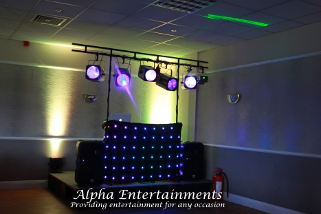 A 30th Birthday Party Disco at Blue Flames Sporting Club