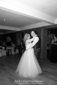 Wedding reception for Claire and Tony at The Sun Hotel, Warkworth
