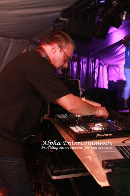 Our company owner and top DJ, Mark Reed