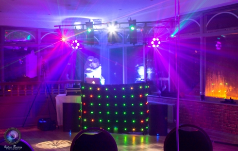 Our setup for Louise's 30th Birthday Party at The Sun Hotel, Warkworth