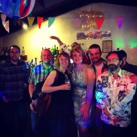 Photo sent in by Lizi Chandler. Engagement Party at The Plough, Cramlington